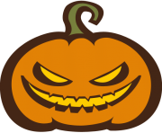 Old Halloween Pumpkin PNG HD