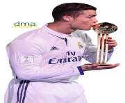 cristiano ronaldo 2018 cup trophy by dma365