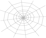 Halloween spider web clip art clipart cliparts for you clipartcow