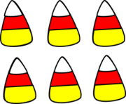 Halloween candy corn clipart free clipart images 3