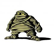 Halloween mummy pictures clipart image 2