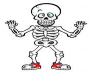 Cute halloween skeleton clip art drawing art of cute halloween