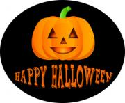 Jack o lantern jack lantern clipart image a happy halloween pumpkin icon with