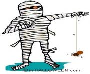Mummy halloween clip art
