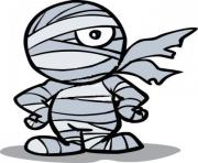 Halloween mummy clipart 2
