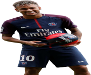 Neymar PSG 2017 Happy