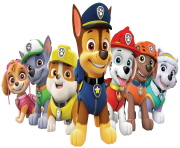paw patrol all characters png