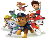 paw patrol png characters