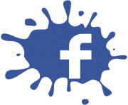 facebook splat f logo transparent