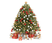 Beautiful Christmas Tree PNG Clipart