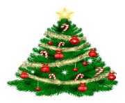Cartoon Christmas Tree PNG Transparent Image