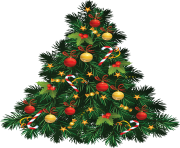 15+ Christmas Tree Transparent Background Clipart