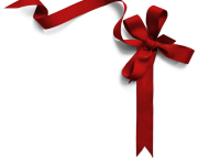 christmas ribbon png picture