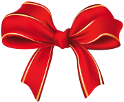 Christmas Bow Decoration PNG Clipart