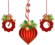 christmas decoration ournament png clip art min
