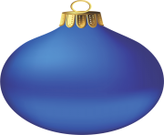 Blue Christmas Ornament PNG Photos min