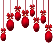 christmas baubles ournament red png min