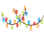 Christmas ball Lights PNG Image