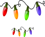Christmas lights border clipart free clipart images