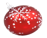 Christmas Ball PNG Transparent Image