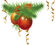 christmas fir tree ball png image
