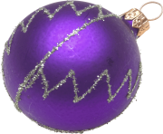 purple hd ball christmas png image