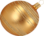 gold christmas ball toy png image