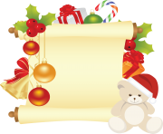 christmas letter png image