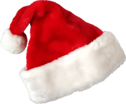 real christmas santa claus red hat png image