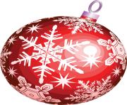 red christmas ball toy png image