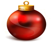 hd christmas ball toy png image