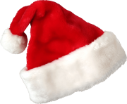 hd christmas santa claus red hat png image