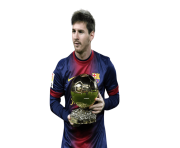Messi Png Fifa Ballon Dor Trophy