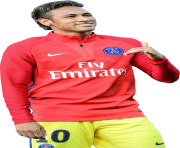 neymar png psg red yellow