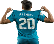Marco Asensio Real Madrid 2017 18 Png