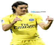 edinson cavani psg png yellow by szwejzi