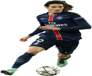 Edinson Cavani PSG No Background Transparent