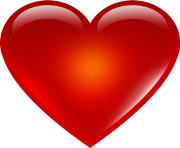 red heart emoji png hd