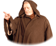 Obi Wan Kenobi Star Wars transparent PNG