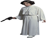 Princess Leia Standing transparent PNG