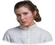 Princess Leia transparent PNG
