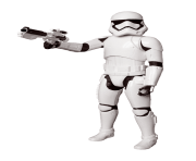 Storm Trooper Figure Star Wars Png