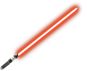 Red Lightsaber Starwars