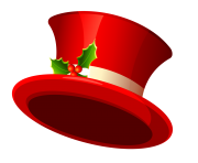 snowman hat christmas red png