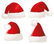 xmas santa claus hat png transparent background