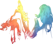 cool smoke multicolor png