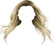blond women hair png image