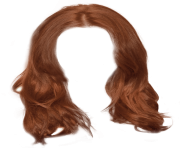 brown woman hair png 6