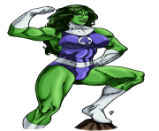 she hulk victory pose by mariangts