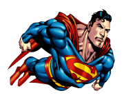 Superman PNG Transparent Image 2